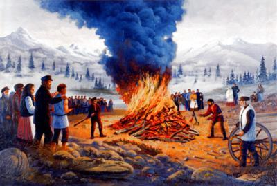 Burning of Arms